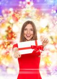 Holiday woman Stock Images