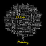 HOLIDAY. Stock Photography