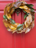 Holiday Wreath Stock Image