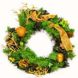 Holiday wreath Royalty Free Stock Image