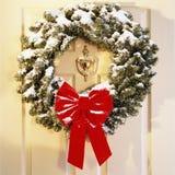 Holiday Wreath stock image