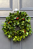 Holiday wreath Stock Photos