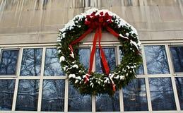 Holiday wreath Royalty Free Stock Photos