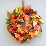 Holiday wreath Royalty Free Stock Photography