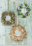 Holiday wreaths Royalty Free Stock Photos