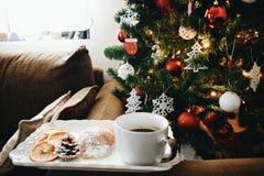 Holiday& x27; s-frukost Fotografering för Bildbyråer