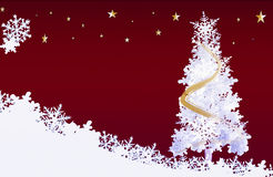 Holiday xmas background illustration Royalty Free Stock Images