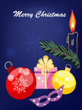 Holiday xmas background, Royalty Free Stock Images