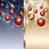 Holiday Xmas Greeting Card Royalty Free Stock Photography