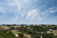 holidayfarm Ιταλία Ουμβρία στοκ εικόνες
