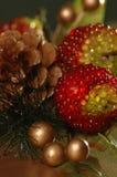 Holidays. Christmas ornaments Stock Image