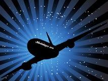Holidays 2016 aircraft Royalty Free Stock Photo