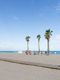 Holidays in Alicante, Costa Blanca Royalty Free Stock Photography