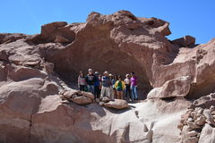 Holidays in Atacama desert in Chile Stock Images
