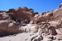 Holidays in Atacama desert in Chile Royalty Free Stock Photo