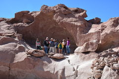 Holidays in Atacama desert in Chile Royalty Free Stock Images