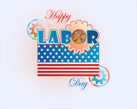 Holidays background  for celebration of American Labor Day Stock Image