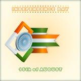 Holidays background for National Celebration of India Stock Photo