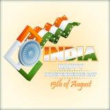 Holidays background for National Celebration of India Royalty Free Stock Photography