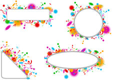 Holidays Banner Set Royalty Free Stock Images