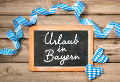 Holidays in Bavaria Stock Photo