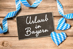 Holidays in Bavaria Stock Image