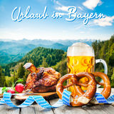 Holidays in Bavaria Royalty Free Stock Photo
