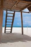 Holidays beach. Holidays in caribbean cancun beach Royalty Free Stock Image
