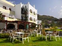 Holidays Beach Resort Crete Stock Photo