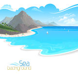 Holidays on Beach Resort Royalty Free Stock Image