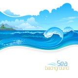 Holidays on Beach Resort Stock Photography