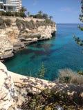 Holidays. Calas de Mallorca sea wiew Stock Photos