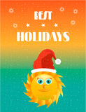 Holidays card Stock Images