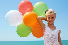 Holidays, celebration, family, children and people concep Royalty Free Stock Photography