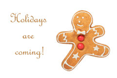 Holidays are coming Royalty Free Stock Image