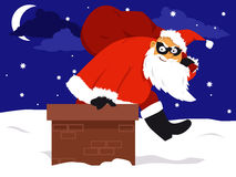 Holidays crime spree Royalty Free Stock Images