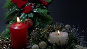 Holidays decoration stock footage
