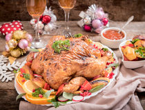 Holidays dinner Stock Photography