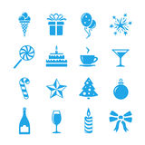 Holidays and event icons Royalty Free Stock Photography