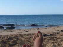 Holidays in Fuerteventura Island Royalty Free Stock Photography