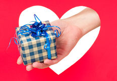 Holidays gift Stock Photography