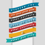 Holidays Greeting Card Royalty Free Stock Image