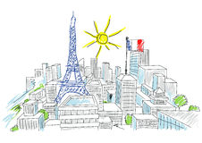 Holidays In France Stock Photography