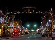 Holidays Lights Redmond Oregon Royalty Free Stock Image