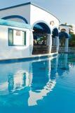Holidays at luxury resort Stock Photo