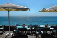 Holidays near the ocean on Tenerife, Canary, Spain, Europe Stock Image