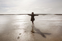 Holidays on the North Sea Royalty Free Stock Photography