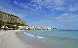 Holidays at Palermo in Sicily royalty free stock photography