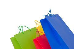 Holidays paper-bags 4 Royalty Free Stock Photo
