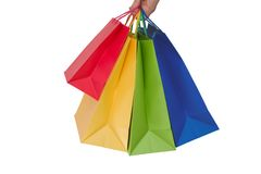 Holidays paper-bags 8277 Royalty Free Stock Images